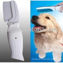 Electronic Flea Killer Zapper Comb Brush for pet