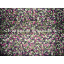 Polyester Floral Printed Satin Fabric for Lady Dress customize-made