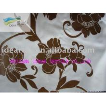Нейлон/полиэстер Флокированная ткань для украшения упаковки ткани