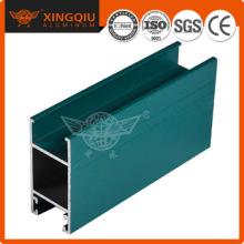 Suministra perfiles de aluminio deslizantes, extrusión de aluminio perfil h fábrica