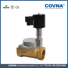 COVNA AC 220V high temperature solenoid valve for gas