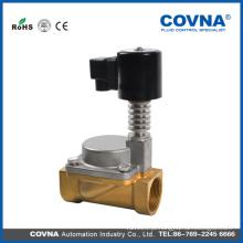 I / 2 polegadas DC24V aço inoxidável válvula solenóide de alta temperatura para o vapor