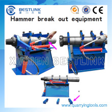 Disassembly Bench for DTH Hammer