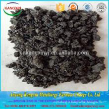 Carboneto de silício metalúrgico Carborundum venda quente Alibaba Preto para Fundição
