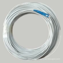 FTTH Drop Cable 1 Core Fiber Optic Patch Cord with Sc Upc Connector
