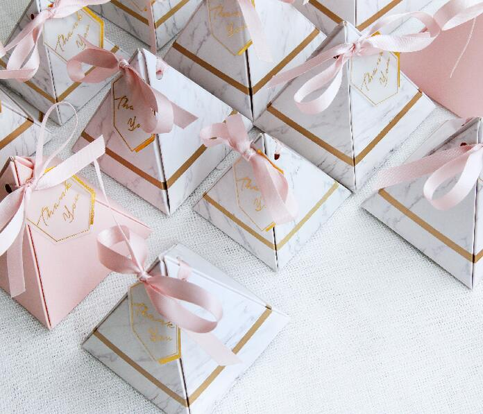 Romantic wedding favors candy boxes for sale