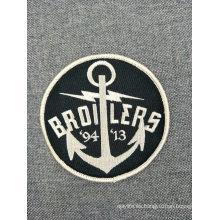 Parche personalizado de insignias de bordado de recuerdo para ropa de hierro