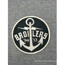 Remendo feito sob encomenda do emblema do bordado da lembrança para a roupa Iron-on
