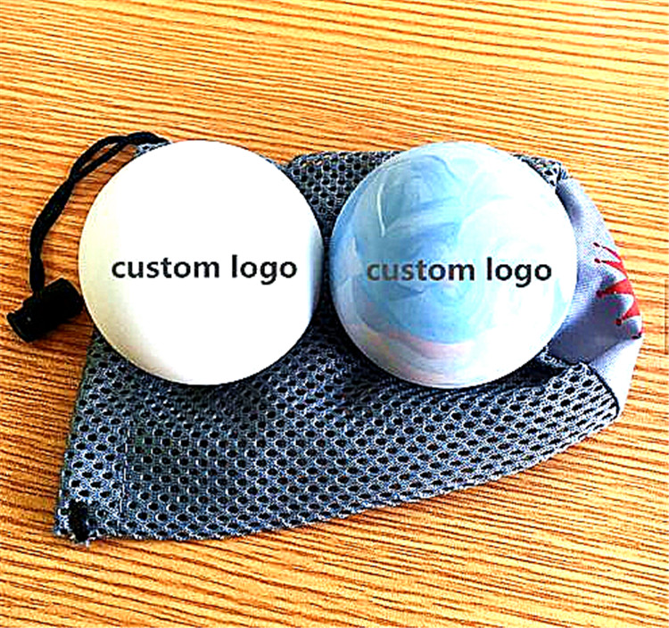 Massage balls with custom logo