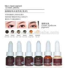 Cream ink for manual tattoo tools permanent Makeup Ink for eyebrow tattoo