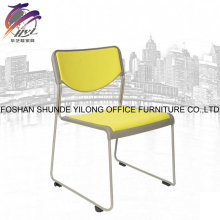 Leisure Office Furniture Sliding Plastic Chair with Caster