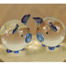 Modèle mignon animaux cristal modèle pour cadeau d'anniversaire