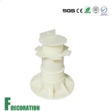 Pedestal de plástico barato para apoyar el decking al aire libre
