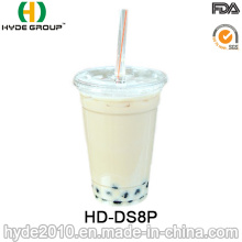 8oz Disposable Plastic Cup with Lid for Juice