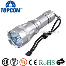 High power corrosion resistance led flashlight dive gear