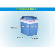 AQ-24L(106) DC 12V AC 220V 60W Cool and Hot double use Home and Car double use car refrigerator(CE certificate)