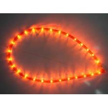 Luces de la cuerda de arroz (R-2Wire-RED)