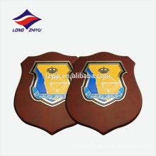 Popular natural color wood wooden award plaque