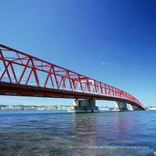 Pontes estruturais de aço pré-fabricadas