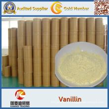 CAS no 121-33-5 suministro de China 99,5% en polvo de etil vainillina