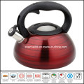 Nylon Handle Color Coated Water Kettle