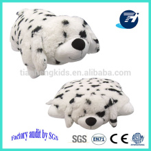 best selling plush dog toy plush dalmatian dog stuffed pillow cushion