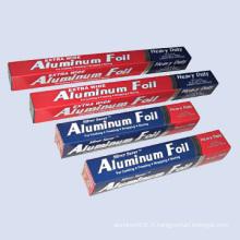 Feuillet en aluminium pour ménage