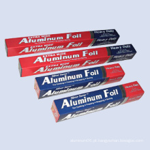 Folha de alumínio doméstico
