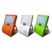 Holofote solar LED com bateria recarregável para música
