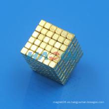 Bloque de oro Neo Magic cubo magnético