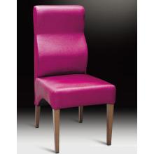 Chaise en bois sculpté antique de meubles d'hôtel