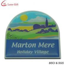 Imã de geladeira impressão logotipo venda quente para publicidade (LM1643)