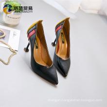 Fall new high quality China shoe factory high heels