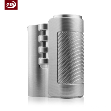 Silver Stainless Steel CNC Machined Part for E-Cigarette