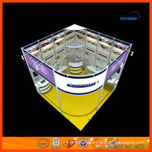 hire customized exhibition and exhibit display stand in shanghai