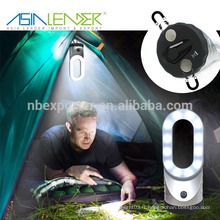 100% Bright -50% Bright-Flash Alimentation 4 * Batterie AAA 30 LED Lanterne de camping