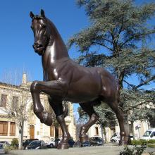 Популярный дизайн лошадь скульптура Аделаида, художественная галерея с 15 лет Плавильни