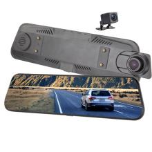 Full Touch Srceen 9.66 Inch Waterproof Dual Lens 4G Car Black Box Dash Camera For Car