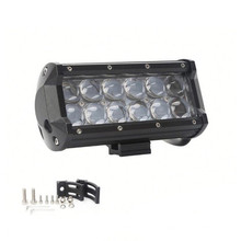 4D Lens LED Off Road Lightbar 6.5inch 36W Led Tailgate Light Light Spot Bar Haz