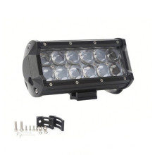 4D Lens LED Off Road Lightbar 6.5inch 36W Led Tailgate Light Bar Spot Beam
