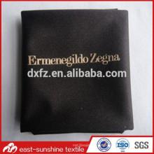 Benutzerdefinierte Splitter heiße Stempel drucken Mikrofaser Gläser Reinigungstuch, Logo gedruckt Microfaser Linse Reinigungstuch für Gläser / Schmuck