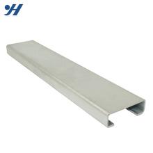 O preço de fábrica laminou o tipo canal de aço de c, canal de aço galvanizado, aço do canal de c