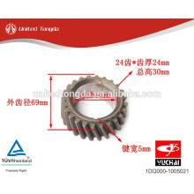 YUCHAI motor YC4105Q / 4102Q engranaje cigüeñal 1DQ000-1005021
