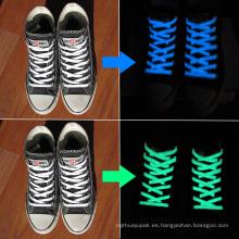 Charm Nylon 20 LEDs Cuerda de zapato que brilla intensamente