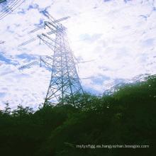 500kV Ángulo de esquina Transmisión de potencia Torre galvanizada