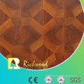 Piso laminado absorbente acústico del roble grabado AC0 de 12.3mm E0