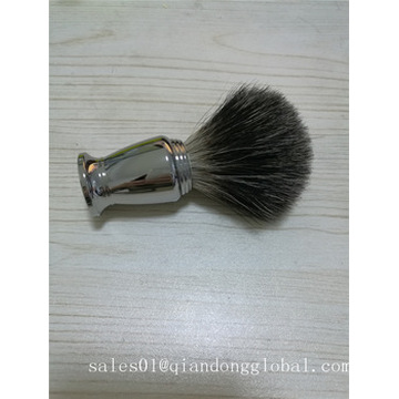 Metalen handvat Black Badger Hair Shaving Brush