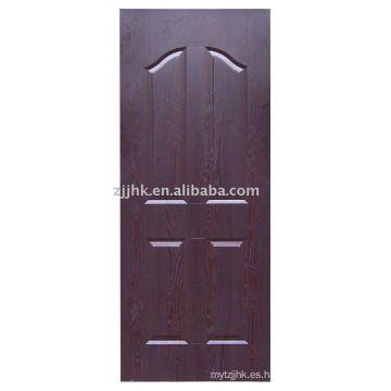 HDF piel de la puerta (JHK-004) MELAMINE