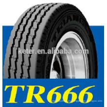 Triángulo de alta calidad de neumáticos tr666, neumáticos de camiones