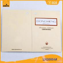 Gedrucktes Papier Hangtags für Kleidungsstück LH30004